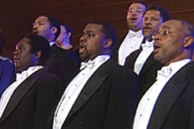 negro spiritual singers
